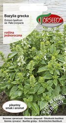 Bazylia Grecka (Ocimum basilicum var. Palla Compacta) 01g