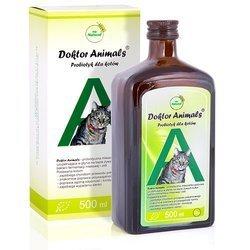 Probiotyk dla kotów – Doktor Animals 0,5 L
